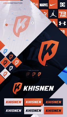 KHISNEN | Personal Logo on Behance