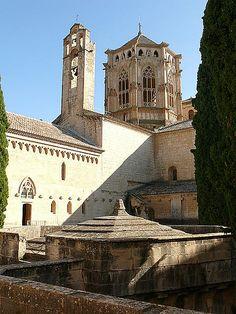 Monastir de Poblet. La Conca de Barberà. Catalonia