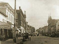 Downtown Lancaster Ohio. 1900