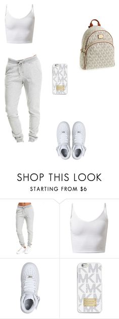 """Untitled #514"" by fashion4life-2 ❤ liked on Polyvore featuring NIKE and MICHAEL Michael Kors"