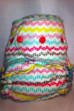 zig zag fun baby cloth diaper