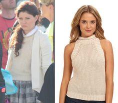 "Sam Edelman Cropped Turtleneck Sweateras seen on Belle in episode 4x09""Fall""($62.99)"