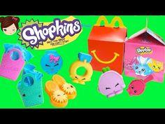 Shopkins de Mc Donalds en Cajita Feliz - Juguetes Shopkins en Español - YouTube