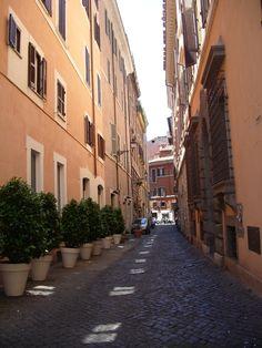 strade di Roma...