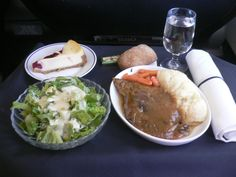 American Airlines - Dinner