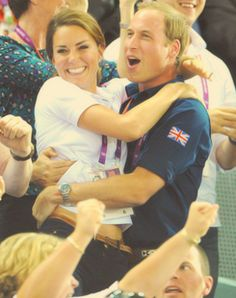 the royals when UK won...cute