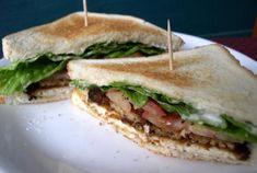 Vegan Club Sandwich!