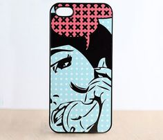 Girl with Halftone Case