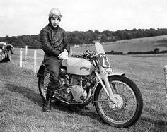 John Surtees in 1951 Classic Motorcycle Pictures