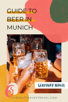 Plan the ultimate beer holiday in Munich, Germany. Every beer-lovers handbook to discover the best beers, breweries, tours, beer-related day trips, craft beers, and taprooms. This guide even covers the history of beer in Munich and Bavaria along with local traditions and beer culture. I where to drink in Munich I Germany beer I where to drink in Germany I what to drink in Germany I things to do in Munich I beers in Munich I #munich #germany #bavaria #beer #brewery #germanbeer Austria Travel, Germany Travel, Beer History, Backpack Through Europe, European Travel Tips, Road Trip Europe, German Beer, Munich Germany, Best Beer