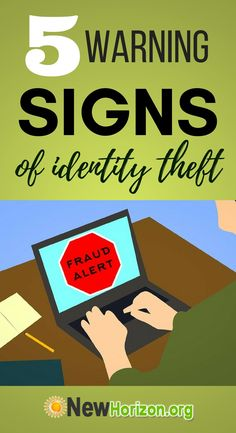 Here are tell-tale signs you should be wary of to safeguard yourself against identity theft. Identity Fraud, Identity Theft Protection, Warning Signs, Finance, Tips, Stay Safe, Watch, Statistics, Safety