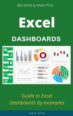 Guide to Excel Dashboards by examples. by Tab W. Keith and Read this Book on Kobo's Free Apps. Discover Kobo's Vast Collection of Ebooks and Audiobooks Today - Over 4 Million Titles! Computer Lessons, Computer Help, Data Dashboard, Dashboard Reports, Microsoft Excel Formulas, Excel Hacks, Charts And Graphs, Educational Websites, Data Analytics