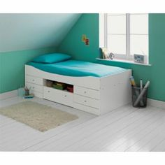 Malibu White Cabin Bed With Dilly Mattress At Argos Co Uk Your