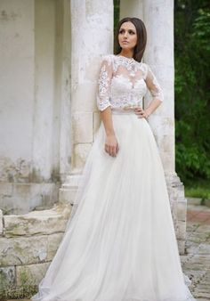 Cool New bridal dresses 2018-2019 Check more at http://myclothestrend.com/dresses-review/new-bridal-dresses-2018-2019/