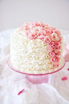 Princess Layer Cake   La Pêche Fraîche