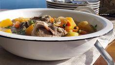 Hearty Lamb & Veggie Soup!