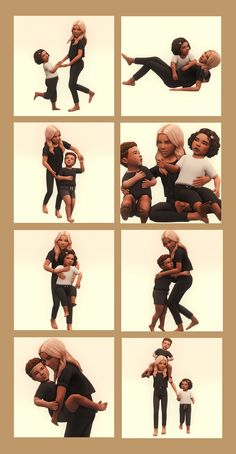 Sims 4 Poses, Sims 4 Couple Poses, Couple Shoot, Los Sims 4 Mods, Sims 4 Cas Mods, Sims Baby, Sims 4 Toddler, Sibling Poses, Kid Poses