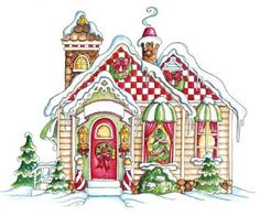snowvillage by laurie furnell