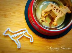 Personalized Doberman cookies Doberman cookie by SugaryCharm Treat Yourself, Make It Yourself, Dog Cookie Cutters, Personalized Cookies, Dog Cookies, Homemade Dog Treats, Food Crafts, Doberman, Birthday Candles