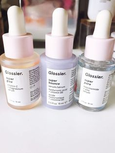 Have Skin Care Products Where to buy glossier. Does glossier sell in a store. Do I have to buy glossier online? Is glossier a make-up brand. Can I buy skin care products from glossier. What is Glossier's sunscreen like? Glossy Makeup, Skin Makeup, Makeup Ysl, Makeup Wipes, 50s Makeup, Highlighter Makeup, Makeup Bags, Beauty Care, Beauty Skin
