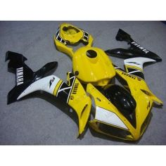 Yamaha YZF-R1 2004-2006 Injection ABS Fairing - Others - Yellow/Black/White | $639.00
