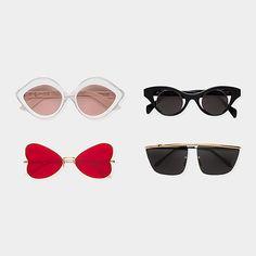 H-A-L-E.COM SHADES OF SUMMER pick - Super Andy Warhol II Sunglasses - #HALE #30DaysOfSummer