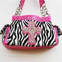 Pink Zebra purse FREE SHIPPING $40.00