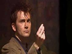 the scene at the end of Forest of the Dead, when Ten stands in front of the TARDIS with a face like power, snaps his fingers, and the doors open, and that boyish grin just slowly spreads across his face… I like that scene. A lot.