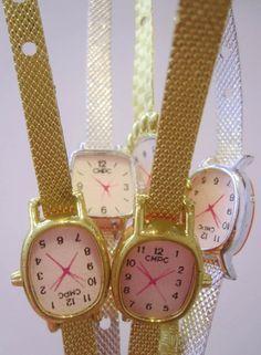 Les montres qu'on pouvait gagner comme lot à la foire