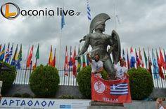 33rd Spartathlon Race 2015 Athens And Sparta, Garden Sculpture, Racing, Sign, Outdoor Decor, Baby, Auto Racing, Lace, Newborn Babies