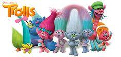 Les Trolls, Film d'animation de Mike Mitchell, Walt Dohrn avec les voix de Louana, M.Pokora. Ce sont des créatures délirantes et surtout les rois de la pop.
