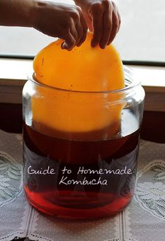 Guide to brewing Kombucha, Part One. Just started my first batch this week - so excited to see how it turns out!
