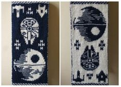 "Make Your Own Double Knit ""Star Wars"" Scarf [DIY]"