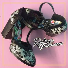 #ironfist Midnight widow shoes..I am in love <3 #spiderwebs #retroglamclothing #retroglam #rowenaedmonton #holidays2015 #pinup #retro #rockabilly