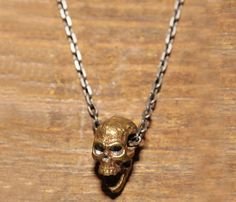 Skull Necklace  by WE ARE ALL SMITH