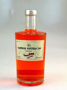 Safran infused gin!