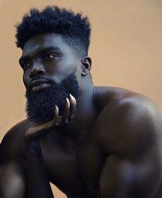 20 Captivating Black Men Hairstyles Ideas To Try Now Gorgeous Black Men, Black Love, Beautiful Men, Black Man, Black Men Beards, Handsome Black Men, Black Men Hairstyles, Haircuts For Men, Black Haircut Styles