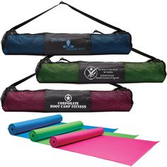 705 ::: Yoga Fitness Mat & Carrying Case $13.50