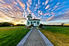 """""""A Summer Sunset at Mukilteo"""" by Michael Riffle, via 500px."""