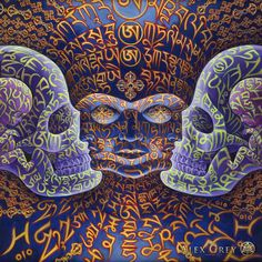 Song of Vajra Being - Alex Grey - www.alexgrey.com