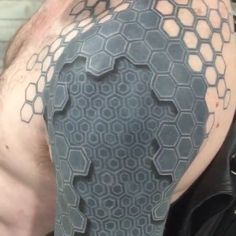 Amazing! Click on it to see further down his arm.