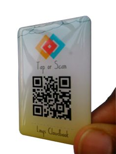 LINQS   Cloudbook - sticky notes enabled by NFC chip and QR Code