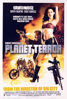 Planet Terror Poster Movie G 11x17 Kurt Russell Rose McGowan Rosario Dawson Jeff Fahey    reproduction Approx. Size: 11 x 17 Inches - 28cm x 44cm Style G mini poster print Pop Culture Graphics, Inc is Amazon's largest source for movie and TV show memorabilia, posters and more