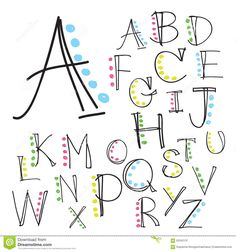 Illustration about Black colorful alphabet uppercase letters.Hand drawn written with a soft watercolor paint brush chalk pencil. Illustration of language, background, alphabet - 63342137 Hand Lettering Alphabet, Doodle Lettering, Lettering Styles, Fun Fonts Alphabet, Hand Drawn Lettering, Simple Lettering, Lettering Ideas, Handwriting Fonts Alphabet, Modern Calligraphy Alphabet