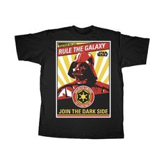 Star Wars Darth Vader Rule The Galaxy Join The Dark Side Mens T-Shirt (3X-Large) - Brought to you by Avarsha.com