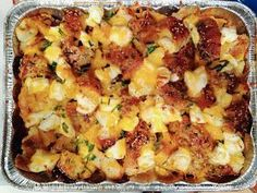 Bagel and cream cheese breakfast casserole