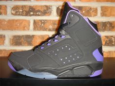 new arrival 38a03 302ab Nike Air Flight Lite High - Black   Purple Adding to their arsenal of Air  Flight Lite Highs, Nike has just released a black purple colorway of the  popular ...