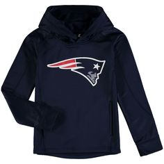 New England Patriots Youth Pullover Hoodie - Navy
