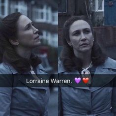 Vera as Lorraine Scary Movies, Horror Movies, Lorraine Warren, Patrick Wilson, Vera Farmiga, Cant Help Falling In Love, The Conjuring, Paranormal, Real Life