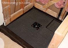 Master Bathroom Day 3&4: Installing Shower Walls and Floor | The Kim Six Fix